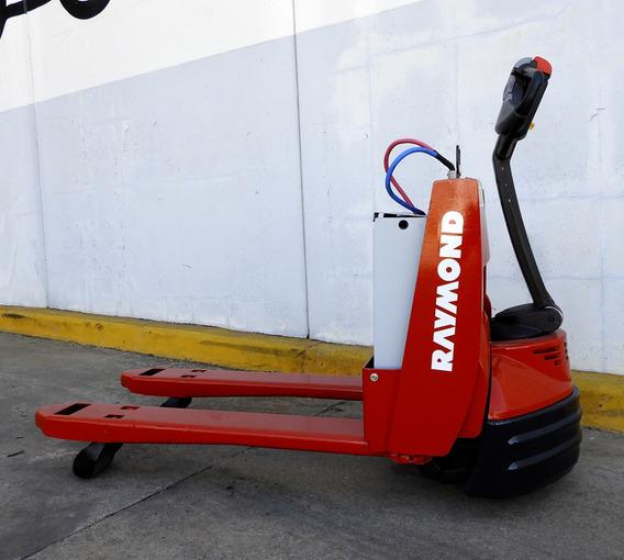 Transpaleta Eléctrica Raymond Toyota102-f45l - Zorra - Usada