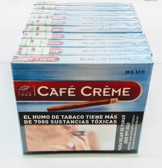 Cafe Creme Blue 10 Unidades