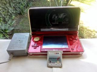 Consola Nintendo 3ds C/ Mario Kart 7 Y Protector Usada