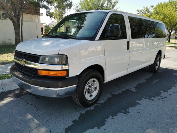 Chevrolet Express 2014 6.0passenger Van Ls 15 Pas Lwb Mt