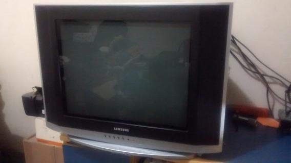 Tv Samsung 20 Tela Plana Tubo