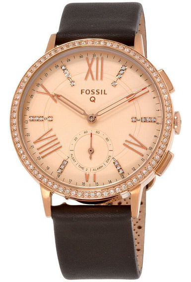 Relógio Unissex Fossil Ftw1116 Pulseira De Couro