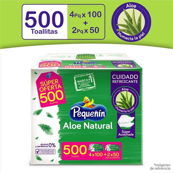 Toallitas Húmedas Pequeñín Aloe - Unidad a $87