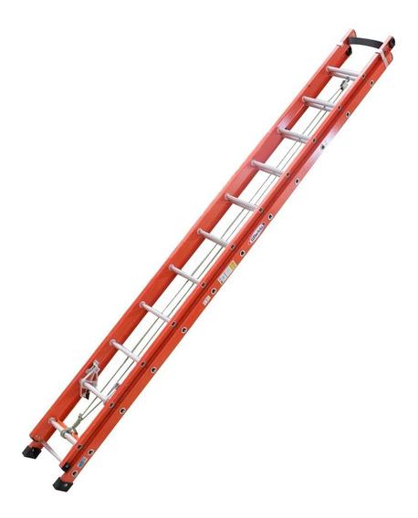 Escada Extensiva Com Degraus Tipo D E Fibra Vazada 3,60 X 6,
