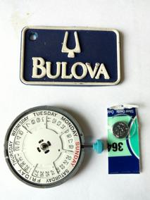Mecanismo Bulova 6m55