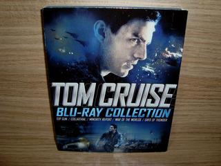 Blu-ray Tom Cruise Collection - 05 Filmes / C/ Luva (us)