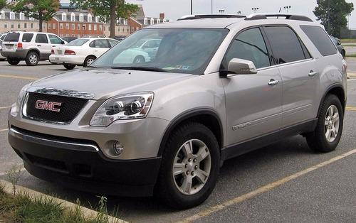 Manual De Despiece Chevrolet Acadia (2006-2017) Español