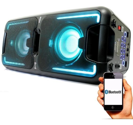 Caixa Bluetooth Pcx5500 Effects Churrasco 200w Rms Philco
