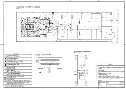 Imagem 1 de 4 de Projeto Elétrico Residencial, Comercial Ou Predial
