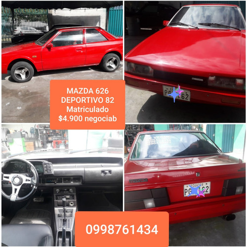 1982 Mazda 626 Deportivo