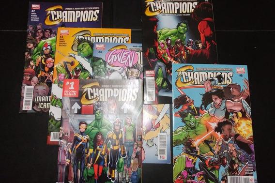 Champions Serie Del 1 Al 6 De Marvel Comics Mexico