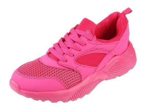 Diportto - Zapatillas Deportiva Mujer - Neón Pink 61388