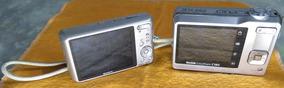 Câmera Sony 16.1mp Mais Câmera Kodak 10.2 Mp