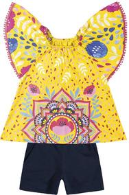 Conjunto Feminino Camisa E Bermuda - Nanai