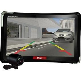 Gps Automotivo Quatro Rodas 7.0 Câmera Ré Tv Com Nota Fiscal