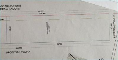 Terreno Comercial 10,000 M2 Lib. Sur-poniente Ideal Escuelas
