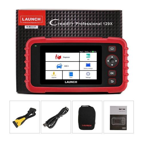 Escaner Launch X431 Crp129 X Calibra Cuerpo De Ac,tpms Nuevo Mas Conector De Tsuru Gratis