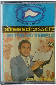 Ozeias De Paula - Play Back Entrei No Templo Em Fita K7