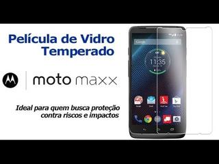 Pelicula De Tela Temperada Frontal Para Celular Moto Maxx
