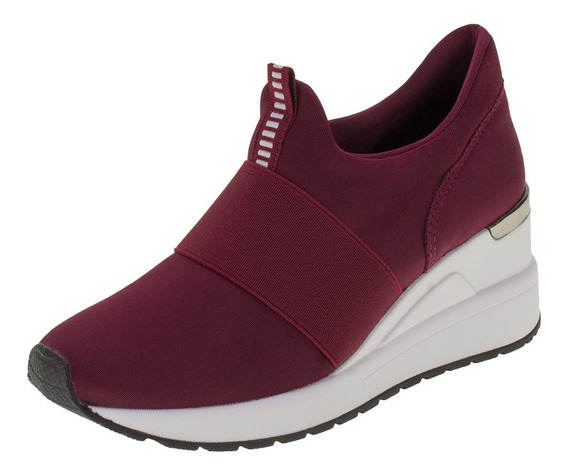 Tênis Feminino Sneakers Via Marte - 1912309 Vinho