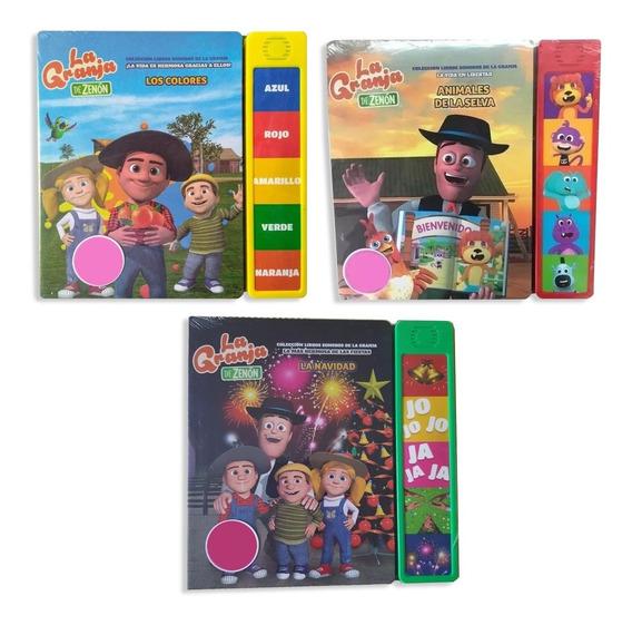 Clarín Colección Libros Con Sonido Set 2 De 3 Libros