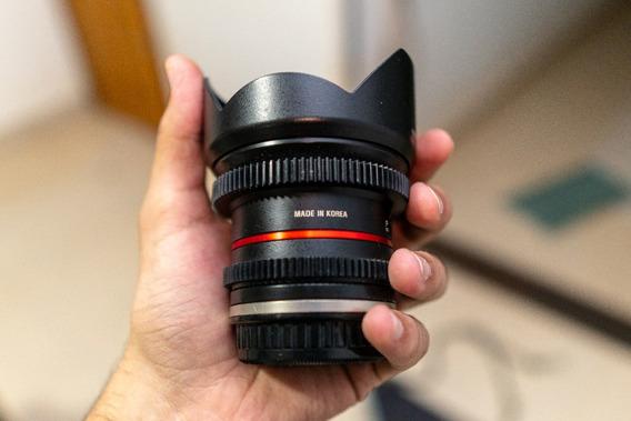 Lente Samyang 12mm T2.0 Cine (sony E Mount)