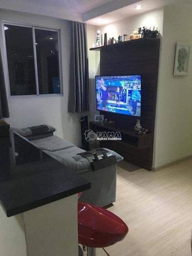 Imagem 1 de 10 de Apartamento À Venda, 64 M² Por R$ 330.000,00 - Residencial Spazio Poeme - Paulínia/sp - Ap0624
