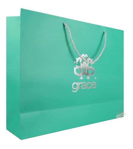 Imagen 1 de 6 de  Bolsa De Regalo Grande Tipo Boutique Grace Individual