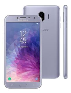 Smartphone Samsung J4 Prata, J400m, Tela De 5.5, 32gb Sem Nf