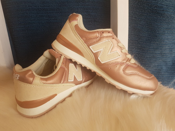 Zapatillas New Balance 996 Golden Rose Dama Importadas