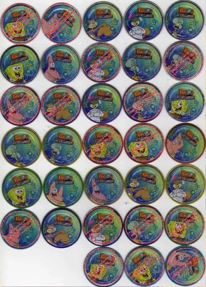 Tazos Titanium Bob Esponja - Elma Chips Cn