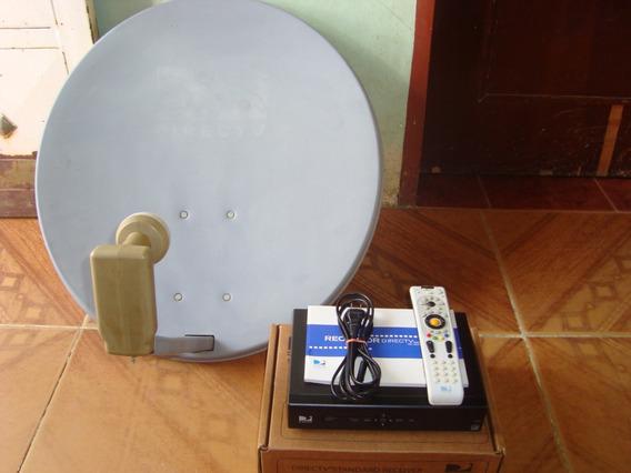 Decodificador Con Control Y Antena Directv