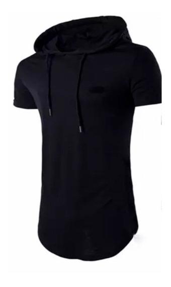 Camisetas Largas Con Capucha Urban Para Hombre