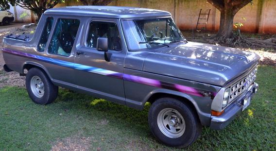 F1000 Cabine Dupla Turbo Diesel Raridade 1982