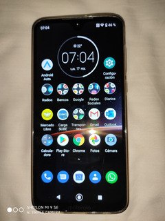 Celular Motorola G7 Plus Liberado Impecable