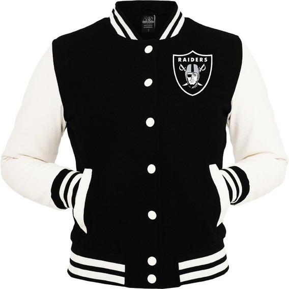 Jaqueta Blusa Casaco Raiders Oakland Bordado Nlf Usa !!