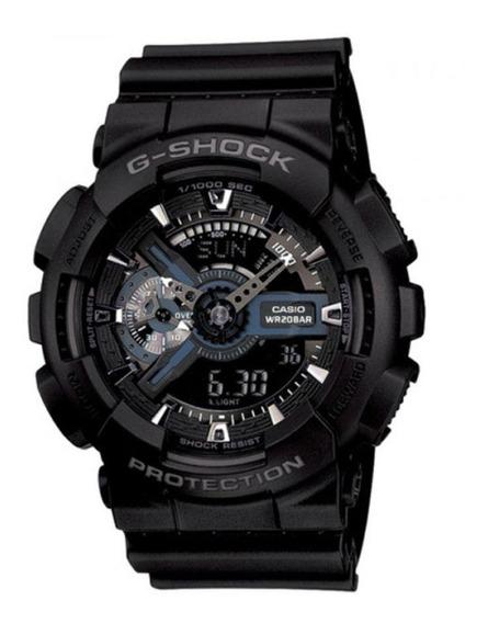 Relógio G-shock Anadigi Ga-110-1bdr