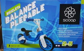 Bicicleta Equilibrio Rodado 12 Scoop