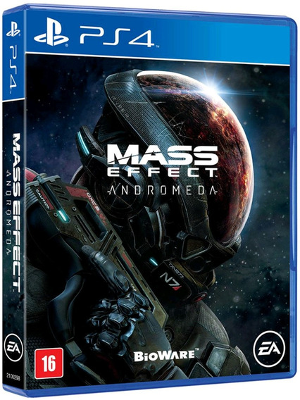 Mass Effect Andromeda Ps4 Mídia Física Lacrado