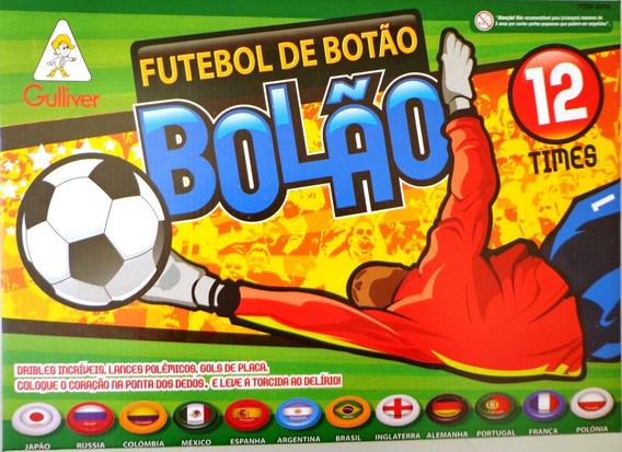 Futebol De Botão Bolão Gulliver 12 Seleções