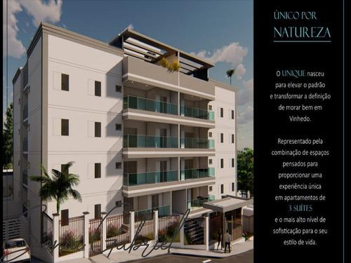 Apartamento Duplex À Venda No Residencial Unique Vinhedo Em Vinhedo/sp - Ap00044 - 69234825