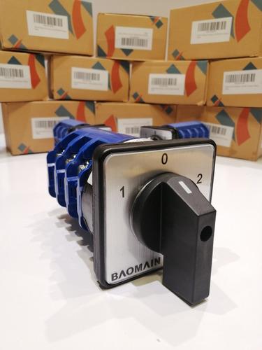 Transfer Switch Manual Selector 125 Amp 660v Conmutador