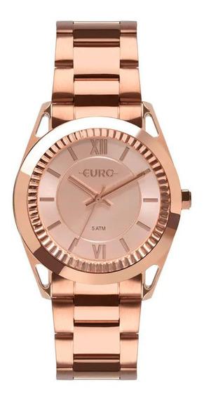 Relógio Euro Feminino Metal Frame Rosé Eu2035ypr/4j