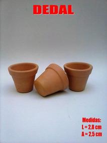 30 Mini Vasinho Dedal P/ Lembrancinha 2,8x2,5 Cm Pag30 Lev33