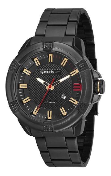 Relógio Masculino Speedo 15004gpevps2 50mm Aço Preto