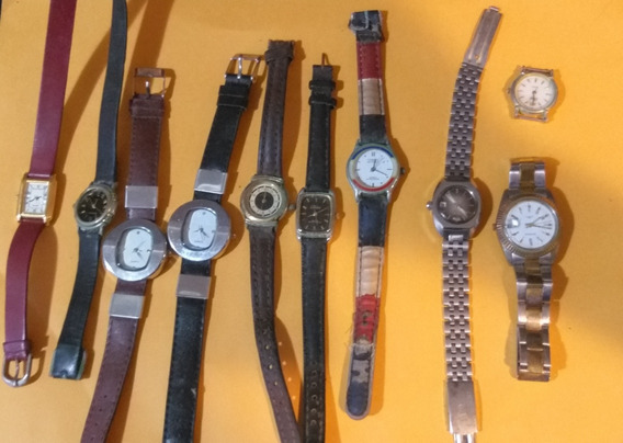 Dez Relógios Femininos Usados