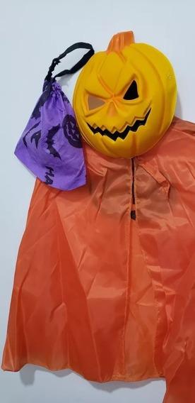 Disfraz Set Calabacita Halloween Cotillon Chirimbolos