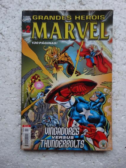 Grandes Heróis Marvel Nº 2! 2ª Série! E. Abril Mar 2000!