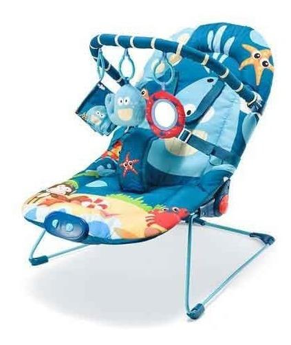 Cadeira De Descanso Bebês 0 A 15 Kg Baleia - Multikids Baby