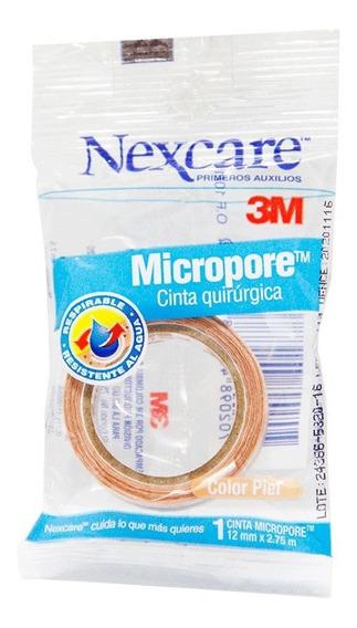 Nexcare Micropore Cinta Color Piel X1 Un